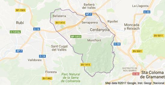 mapa-cerdanyola-del-valles