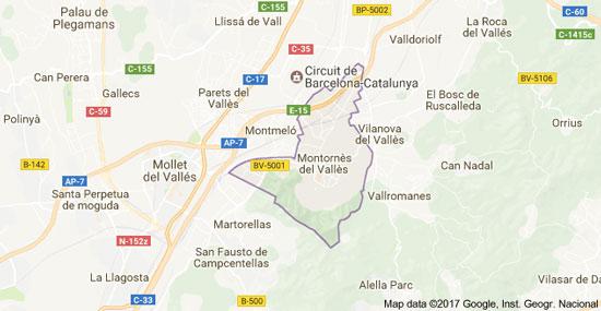 mapa-montornes-del-valles