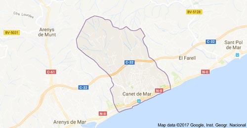 mapa-canet-de-mar