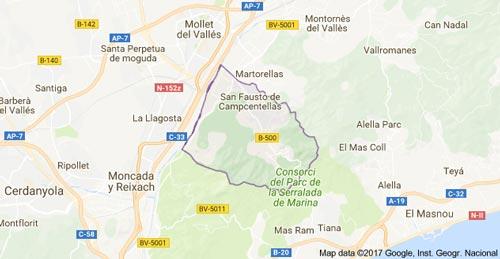 mapa-sant-fost-de-campsentelles